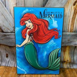 Disney The Little Mermaid Ariel Wall Plaque 13x19